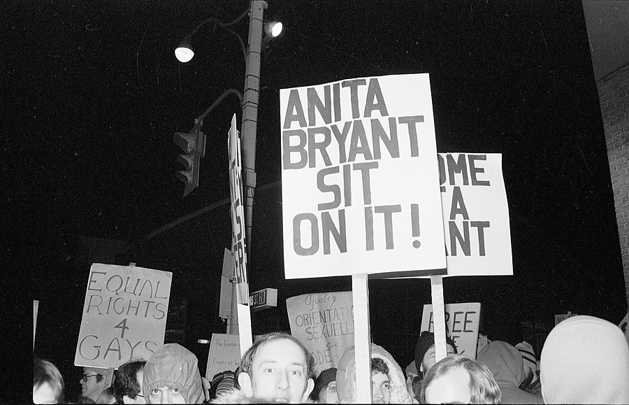 anita bryant demonstration January 1978