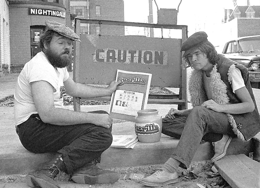 ken hutchinson and mike constable of guerilla
